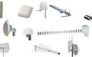 Типы и характеристики wifi-антенн